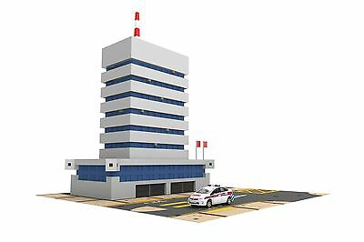 TINY Hong Kong City Ps2 Fit 1/64 & 1/76 police station & police car Playset
