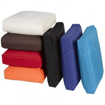 Jumbo Large Waterproof Outdoor Cushion Chair Seat Cover Pads Plush Padded Pillow