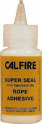 CALFIRE SUPERSEAL STOVE ROPE GLUE FOR WOODBURNING STOVES SEAL 30ml