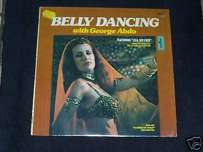 Belly Dancing with George ABDO /  Lila, my Love ! ! Sehr schöne Bauchtanz - LP !