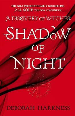 Shadow of Night: (All Souls 2) by Deborah Harkness Paperback Book Free Shipping!