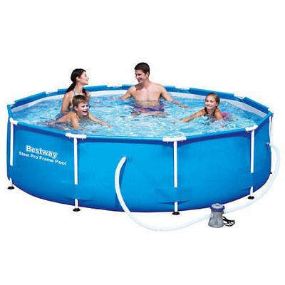 "Bestway Quality 10Ft Steel Frame Pool, 12Ft Steel Frame Pool, 100"" Maintance Kit"