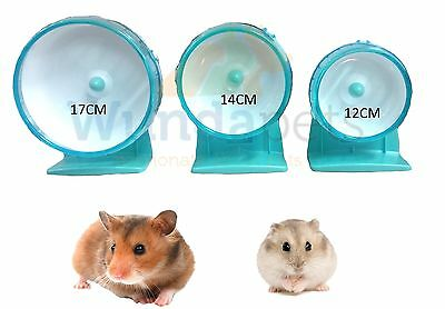 Karlie Near Silent Dwarf Syrian Gerbil Mouse Hamster Cage Exercise Wheel 3 Size