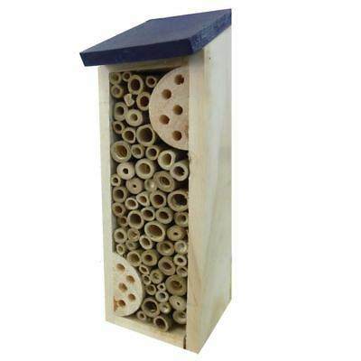 Wooden Bamboo Insect Bugs Garden Hanging Hotel Home Bees Ladybird Nest Box House