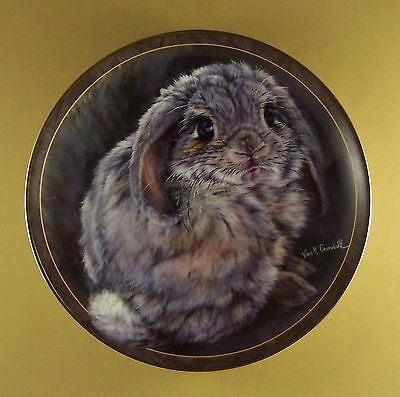 Bunny Tales TAIL FEATHERS Plate #10 Tenth Issue Vivi Crandall Rabbit Charming!