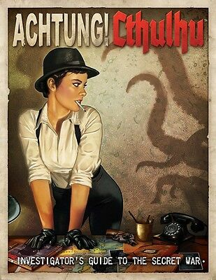 Achtung! Cthulhu RPG: Investigators Guide To The Secret War IMP MUH01031