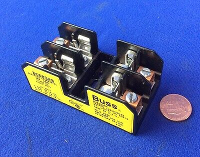 Buss Bc6032B Fuse Holder For Class Cc Fuses