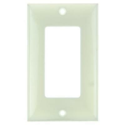 SUNLITE 1 Gang Decorative Plate Almond Color