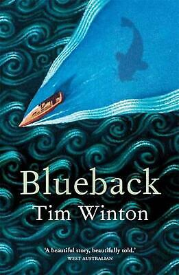Blueback by Tim Winton Paperback Book Free Shipping!