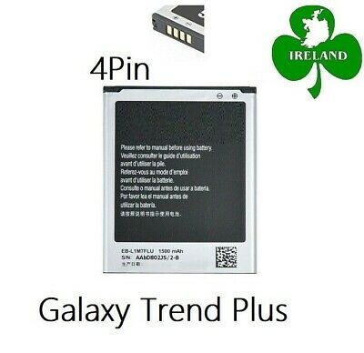 FOR SAMSUNG GALAXY TREND PLUS S7580 NEW INTERNAL BATTERY REPLACEMENT 1500mAh