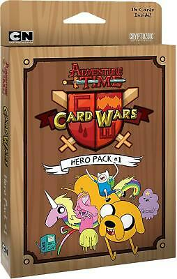 Cryptozoic Entertainment Adventure Time Card Wars Hero Pack 1
