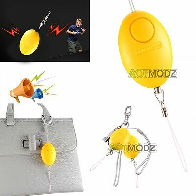 Egg Shape Self-Defence Protect Girl Alarm Scream Loud Anti-Attack 120DB Voice