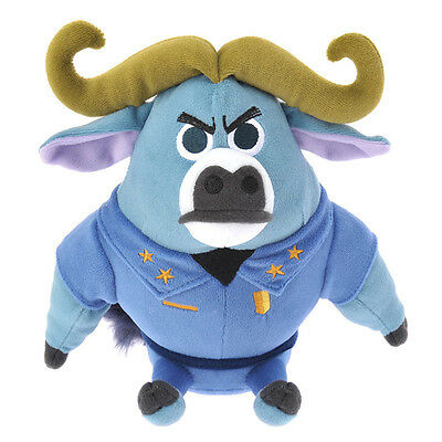 Zootopia Chief Bogo Plush Doll ❤ Disney Store Japan