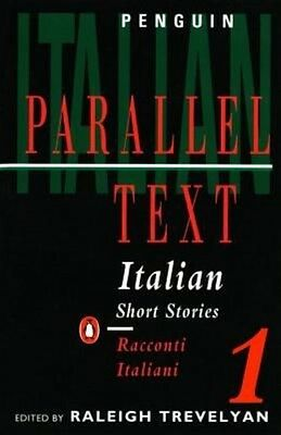 Italian Short Stories 1: Parallel Text Edition by R Trevelyan Paperback Book (It