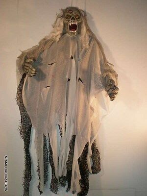 """37"""" Scary Ghost Dead Man Zombie Hanging Decoration Halloween Ceiling Wall"""