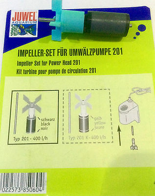 Juwel Pump Powerhead Impeller & Axle Shaft 201 Filter 400 lph Jewel Impellor