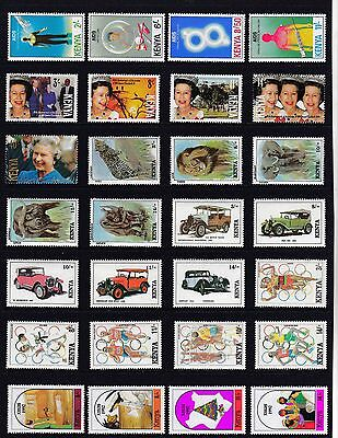 KENYA Modern STAMP Collection 1992 ALL Values UNMOUNTED MINT  Ref:QB951