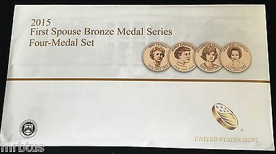 2015 FIRST SPOUSE MEDALS SET US Mint New 1st Lady Bronze Coins