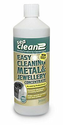 Jpl Sea Clean 2 Cleaning Solution 1L For All Ultrasonic Cleaners Uses Natural N