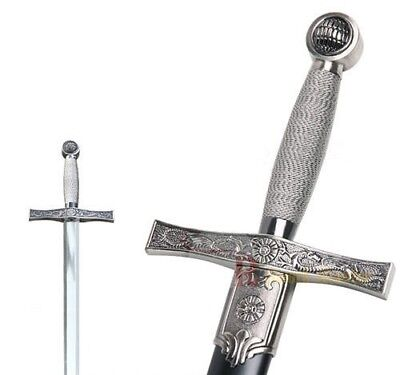 Medieval King Arthur Excalibur Knights Of The Round Table Templar Longsword