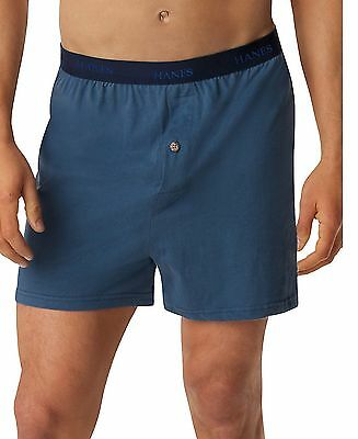548BX5 Hanes Men's TAGLESS ComfortSoft Knit Boxer with Comfort Flex Waistband 5-