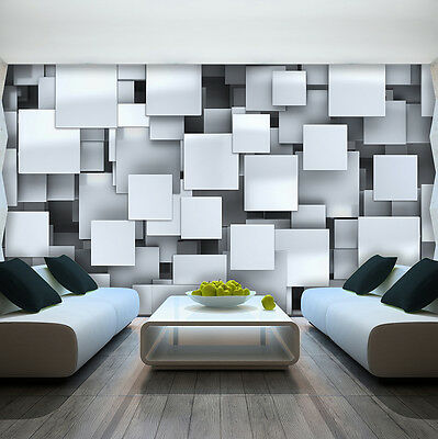 photo wallpaper abstract effect in 3d wall mural 3477ve picclick uk. Black Bedroom Furniture Sets. Home Design Ideas
