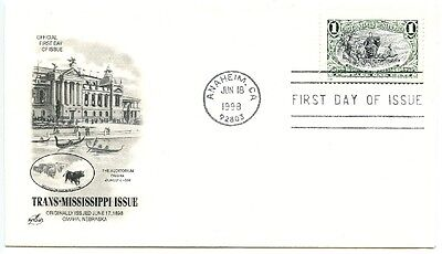1998 Fdc,trans-Mississippi Collection
