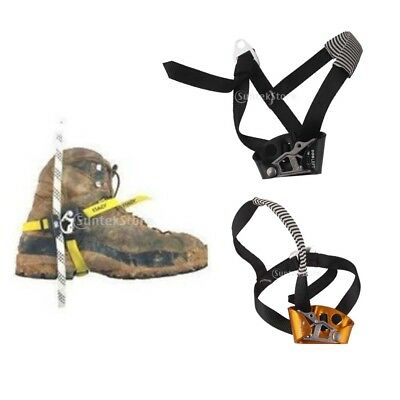 Outdoor Rock Climbing Tree Surgeon Ascender Rescure Equip Gear RIGHT / LEFT Foot
