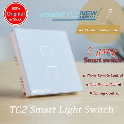 BroadLink TC2 Double Touch Automation Switch Smart Home Wireless Remote Control