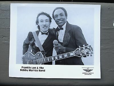 Soul/Blues  publicity  photo: FRANKIE LEE & THE BOBBY MURRAY BAND