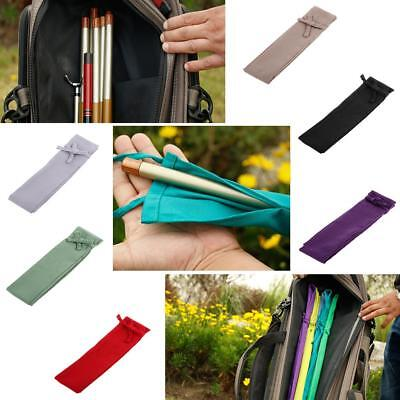 Fishing Rod Case Cover Sleeve Sock Travel Protector Gear Glove Storage Bag Wraps