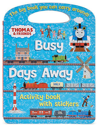 Thomas and Friends Days Away Activity Book With Stickers (Papeback) Tank BN