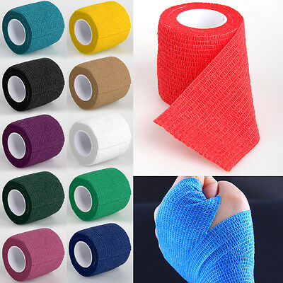 Medical First Aid Health Care Self-Adhesive Bandage Elastic Dressing Gauze Tape