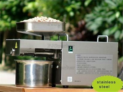 High Quality Automatic Small Oil Press Machine Stainless Steel Cold Hot Press J