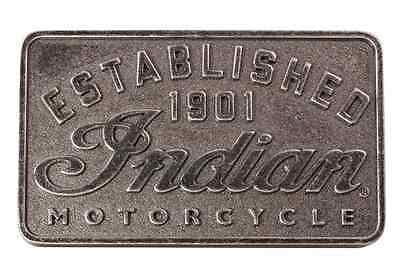 Indian Motorcycle Mens Established 1901 Belt Buckle Premium Antique Finish Chief