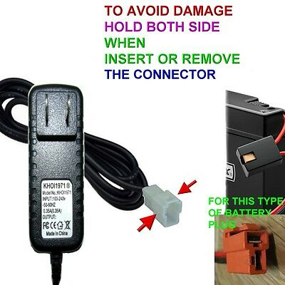 ORIGINAL 6V CHARGER for BMW X6 Kids Ride On Car From Walmart