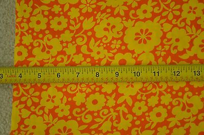 "Vintage Pastel Floral on Gray Polished Cotton By-the-Half-Yard 44/"" M4879"