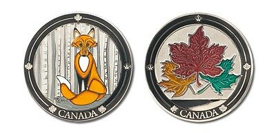 Canada Fox Collectible Coin