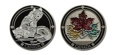 Canada Wolves Collectible Coin