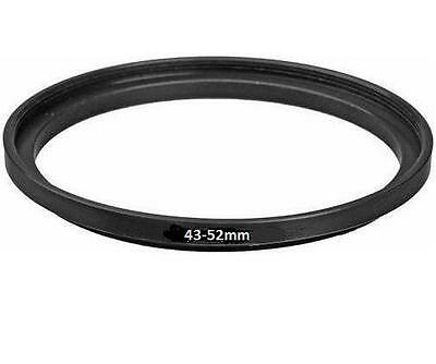 Bower 43mm-52mm Step-up Metal Ring Adapter 43-52mm