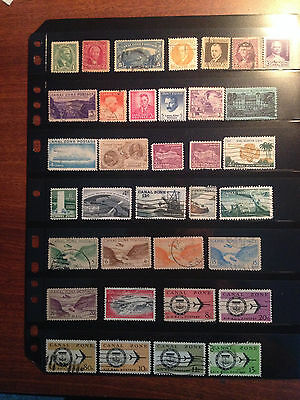 35 Different Canal Zone Stamps - Lot+ Bonus!!!