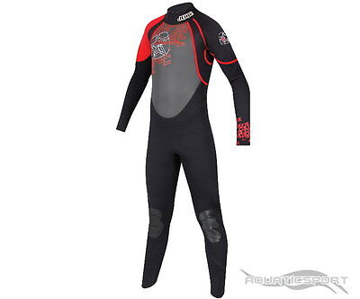 Jobe Full Suit REBEL Kinder Neoprenanzug rot