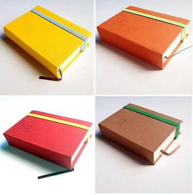 "Pocket Sketchbook, 3""x4"", Blank Notebook, Travel Journal-8 colors available"