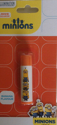 MINIONS Lip Balm Despicable Me - Banana Flavour - NEW and sealed