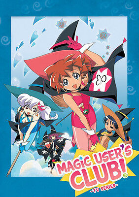 Magic User's Club Complete Tv Series Collection - 3 DISC SET (2016, DVD NEW)