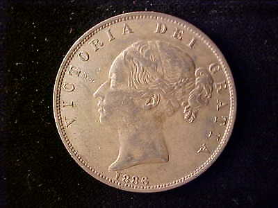 Victoria Half Crown 1886 Ef
