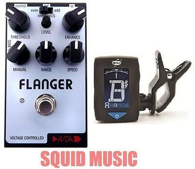 ADA PBF Flanger Guitar Effects Pedal Board Friendly Size ( FREE DUNLOP TUNER )
