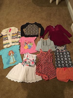 Lot of Toddler Girl Clothing Size 5-6, Mostly 6