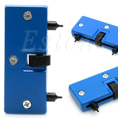 Adjustable Rectangle Watch Opener Back Remover Wrench Repair Case Cover Kit Tool