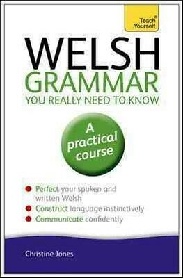Welsh Grammar You Really Need to Know: Teach Yourself by Christine Jones Paperba